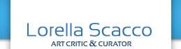 Lorella Scacco, art critic & curator